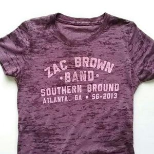 Zac Brown Tops - Zac Brown Band Southern Ground T-Shirt